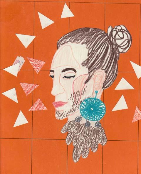 Earring-Menswear-LFW-S-S-2011-Antonia-Parker