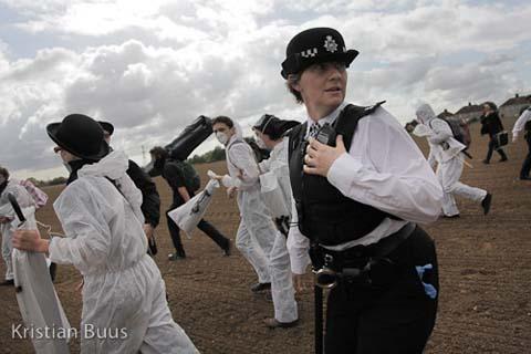 Kristian Buus Crude Awakening police