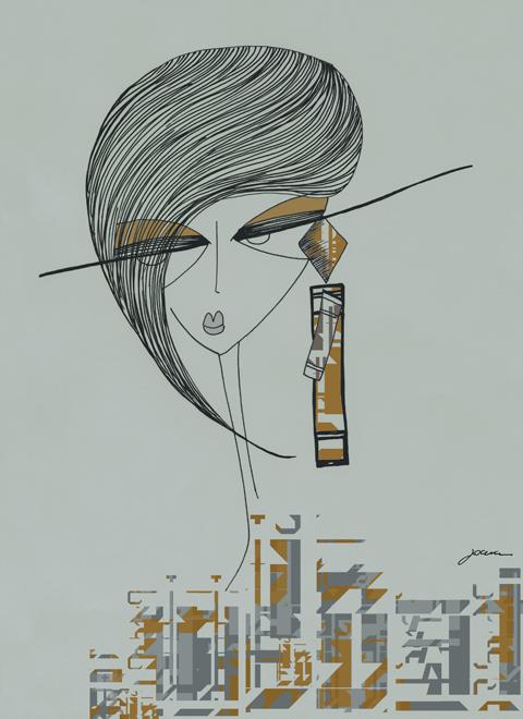 Partimi earing by Joana Faria