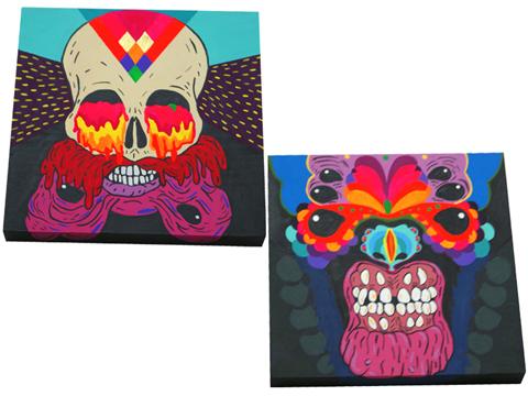 1.paintings-skulls-la mano