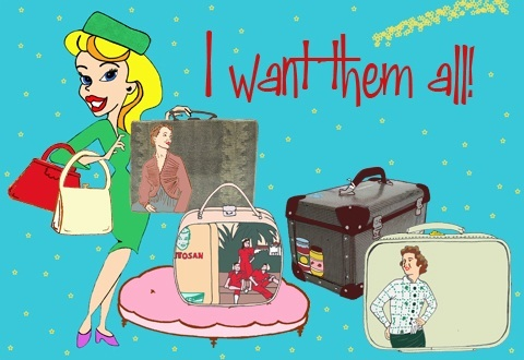 Bespoke bags by Lisa Tilley, illustration by Matilde Sazio
