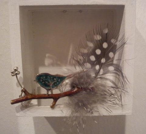 Mulitmedia Jewellery by Alison Haddon, photograph by Rosie Shephard