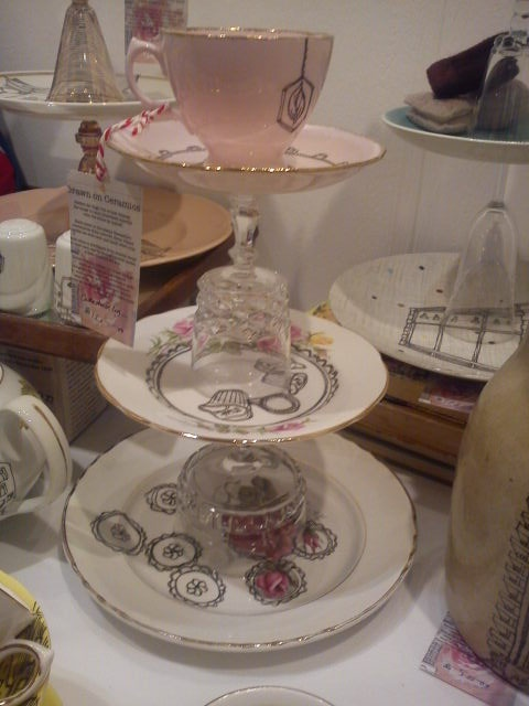 Cake stand by Esther Coombs