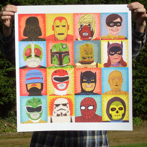 Jack Teagle heroes and villains