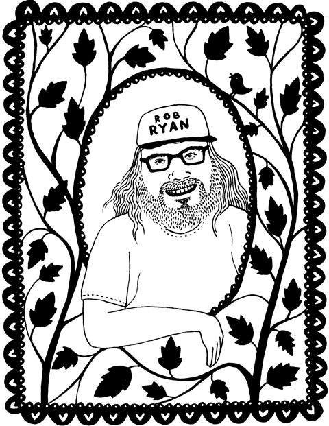 Rob Ryan by Holly Trill