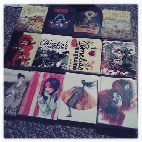 Amelia's Compendium postcards
