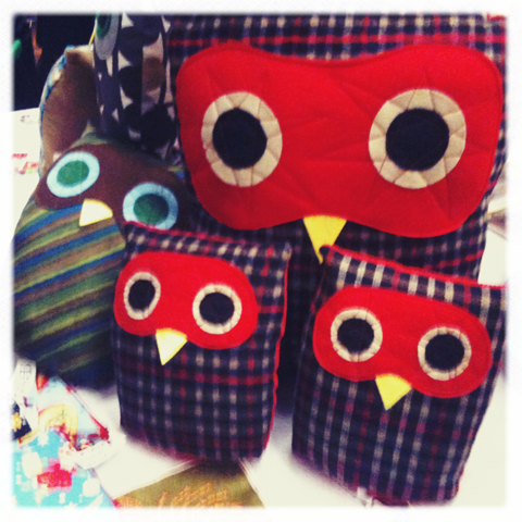 Bust Craftacular-seaside sisters owls