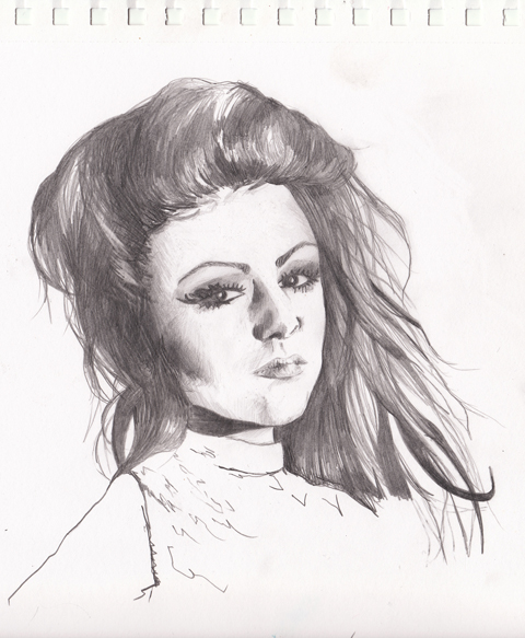Cher Lloyd by Gemma Pharo