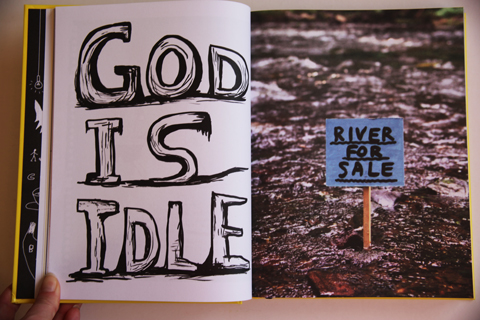 Essential David Shrigley-God is Idle