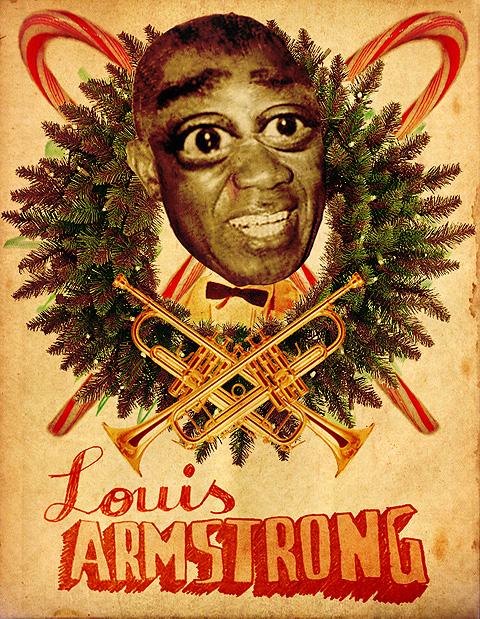 Louis Armstrong Mina Bach