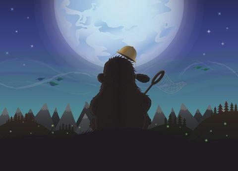 Moon Rise Ben Steers