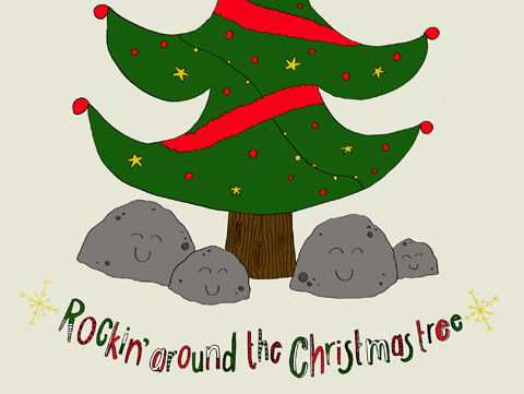 Rockin' around the Christmas Tree by Chloe Cook