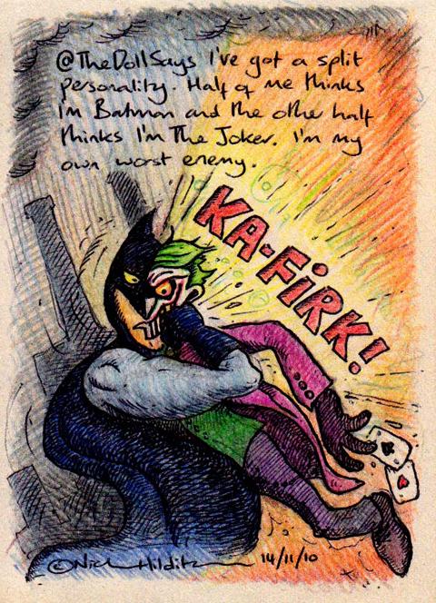 irkafirka batman joker