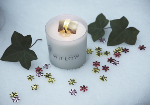 willow organics candle