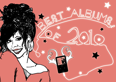 Best Albums of 2010 by LJG Art & Illustration