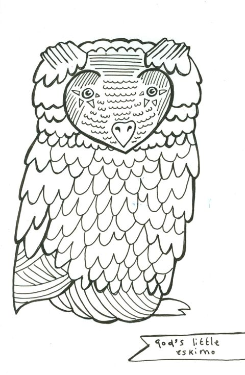 God's little Eskimo - Owl Fritha