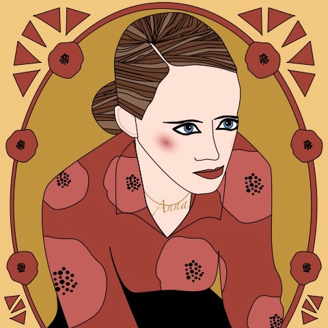 anna calvi 2 by Avril kelly