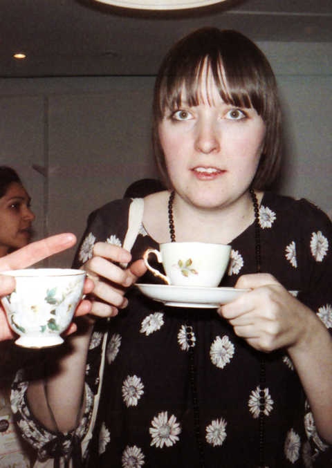Abby Wright takes tea. Photography by Liz Johnson-Artur