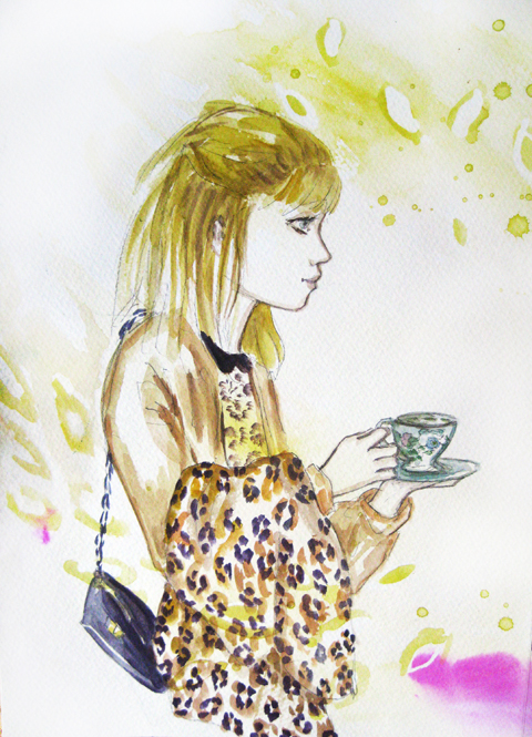 Alexandra Haddow of Pukka Teas by Andrea Peterson