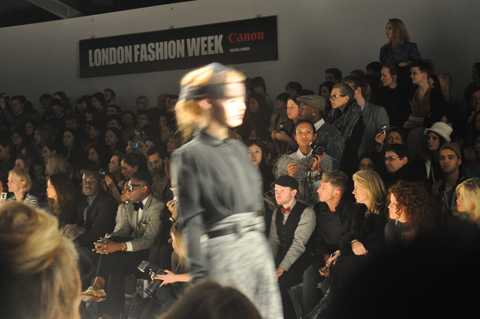Bora Aksu London Fashion Week AW11