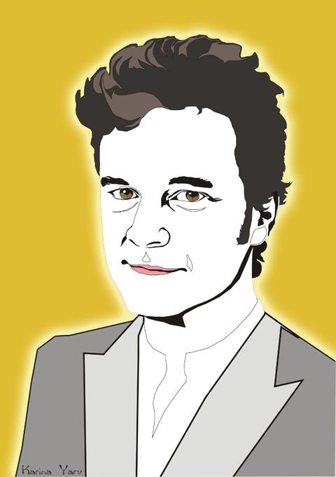 Colin Firth by Karina Yarv