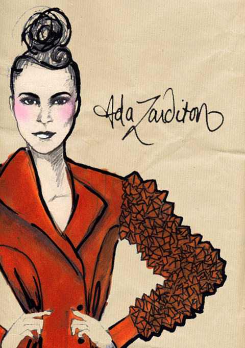 Ada Zanditon A/W 2011 by Dee Andrews