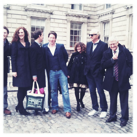 LFW A-W 2011-Paul Costelloe family
