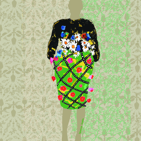 Mary Katrantzou A/W 2011 by Karolina Burdon