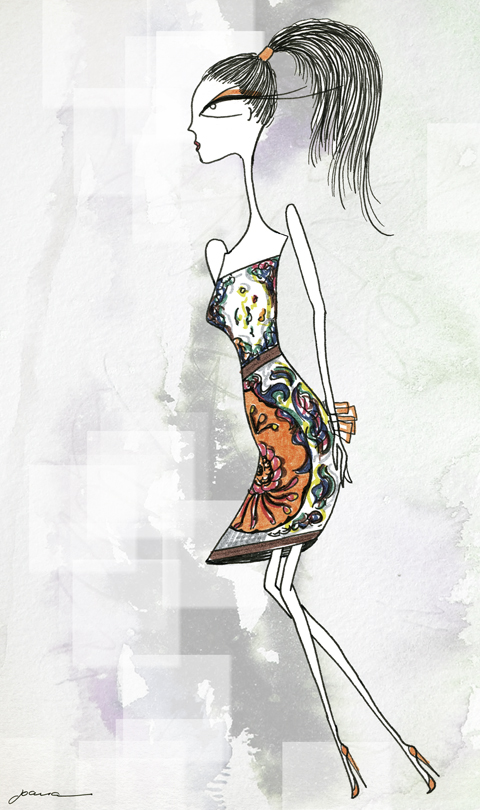 Mary Katrantzou A/W 2011 by Joana Faria