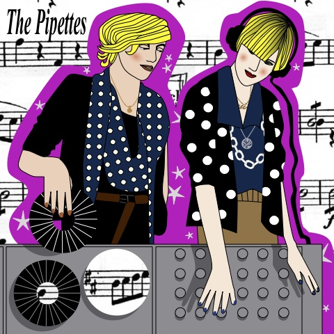 The Pipettes by Avril Kelly