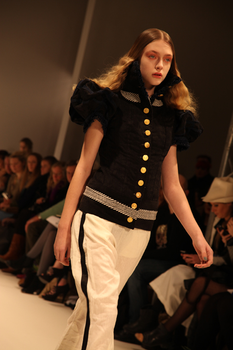 Prophetik A/W 2011. Photography by Amelia Gregory