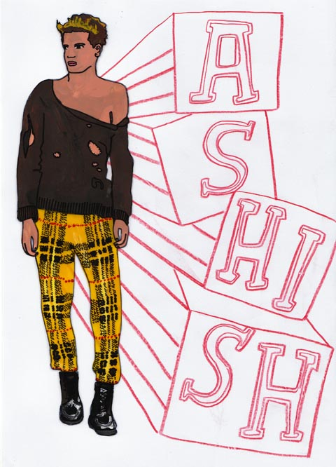 Ashish A/W 2011 by Antonia Parker