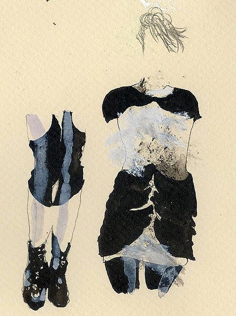 Bryce Aime A/W 2011 by Sandra Contreras