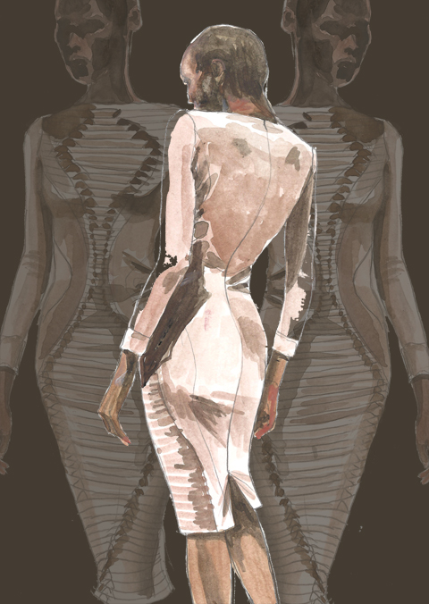 Georgia Hardinge A/W 2011 by Faye West