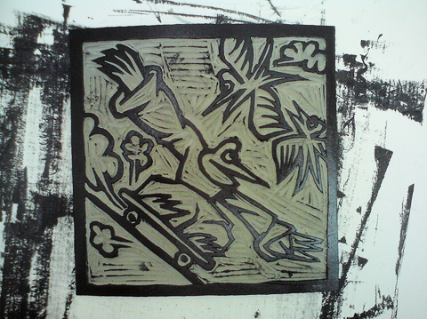 James Jarvis lino work