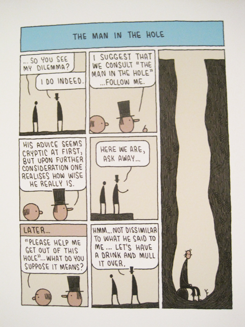 Pick Me Up 2011-Tom Gauld