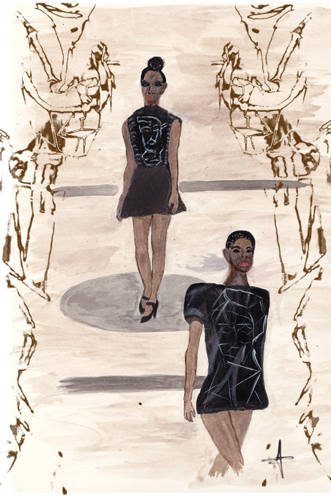 Samantha Cole A/W 2011 by Jane Young
