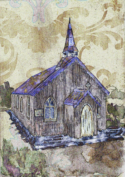Tin Tabernacle by Gilly Rochester