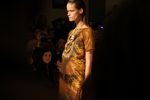 Kirsty Ward A/W 2011. Photography by Amelia Gregory