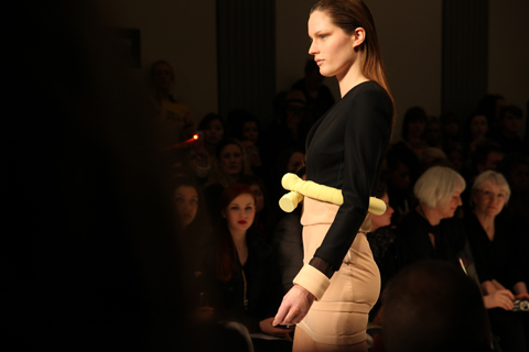 Anja Mlakar A/W 2011. Photography by Amelia Gregory