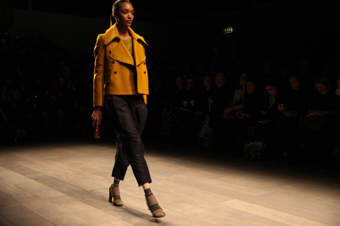 Jaeger A/W 2011. Photography by Amelia Gregory.