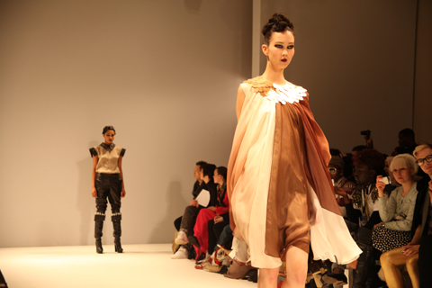 Lako Bukia A/W 2011 CHOXA. Photography by Amelia Gregory