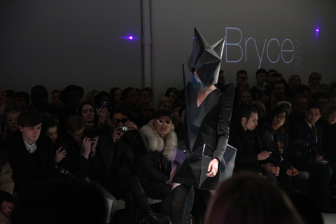Bryce Aime A/W 2011. Photography by Amelia Gregory.