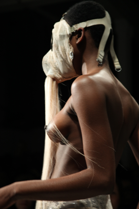 Charlie Le Mindu A/W 2011 Berlin Syndrome. Photography by Amelia Gregory