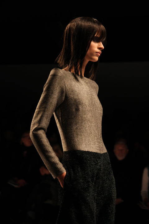 Osman A/W 2011. Photography by Amelia Gregory.
