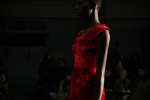 Michael Van Der Ham A/W 2011. Photography by Amelia Gregory