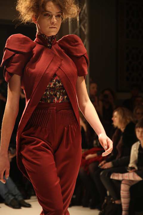 A La Disposition A/W 2011. Photography by Amelia Gregory