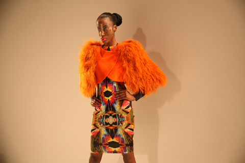 Bunmi Koko A/W 2011. Photography by Amelia Gregory