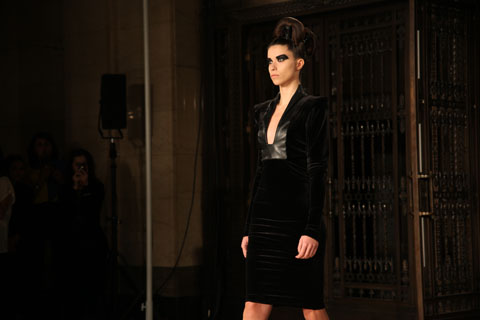 Samantha Cole A/W 2011. Photography by Amelia Gregory