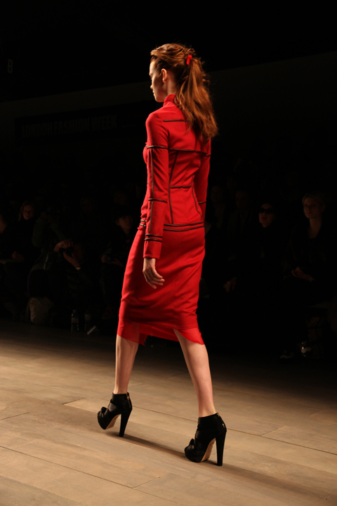 Emilio de la Morena LFW A/W 2011. Photography by Amelia Gregory